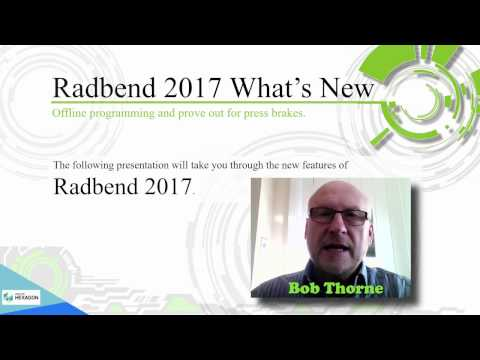What's New - Radbend 2017 | Radan