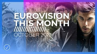 EUROVISION THIS MONTH: OCTOBER 2019