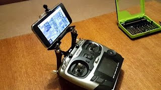 Holder FPV monitor or phone for Radiolink AT9.
