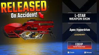 Apex Legends New Weapon Released EARLY on Accident! Apex L Star Update Leak