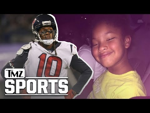 Theresa - DeAndre Hopkins will donate his game check and play in honor Jazmine Barnes