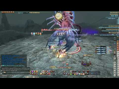 """FFXIV """"The Sirensong Sea"""" Dungeon Stormblood TANK perspective"""