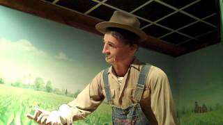 Robot Farmer from the Tobacco Museum in Durham NC