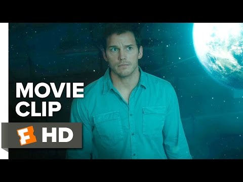 Passengers Movie CLIP - I Woke Up Too Soon (2016) - Chris Pratt Movie