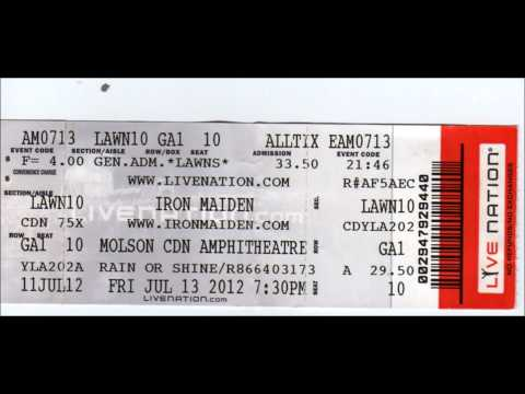Iron Maiden - Seven Son Of The Seventh Son ( Molson Amphitheatre July 13 , 2012)