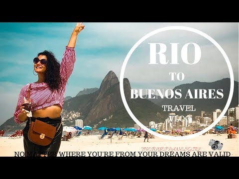 EMIRATES CABIN CREW | RIO AND BUENOS AIRES IN 4 DAYS