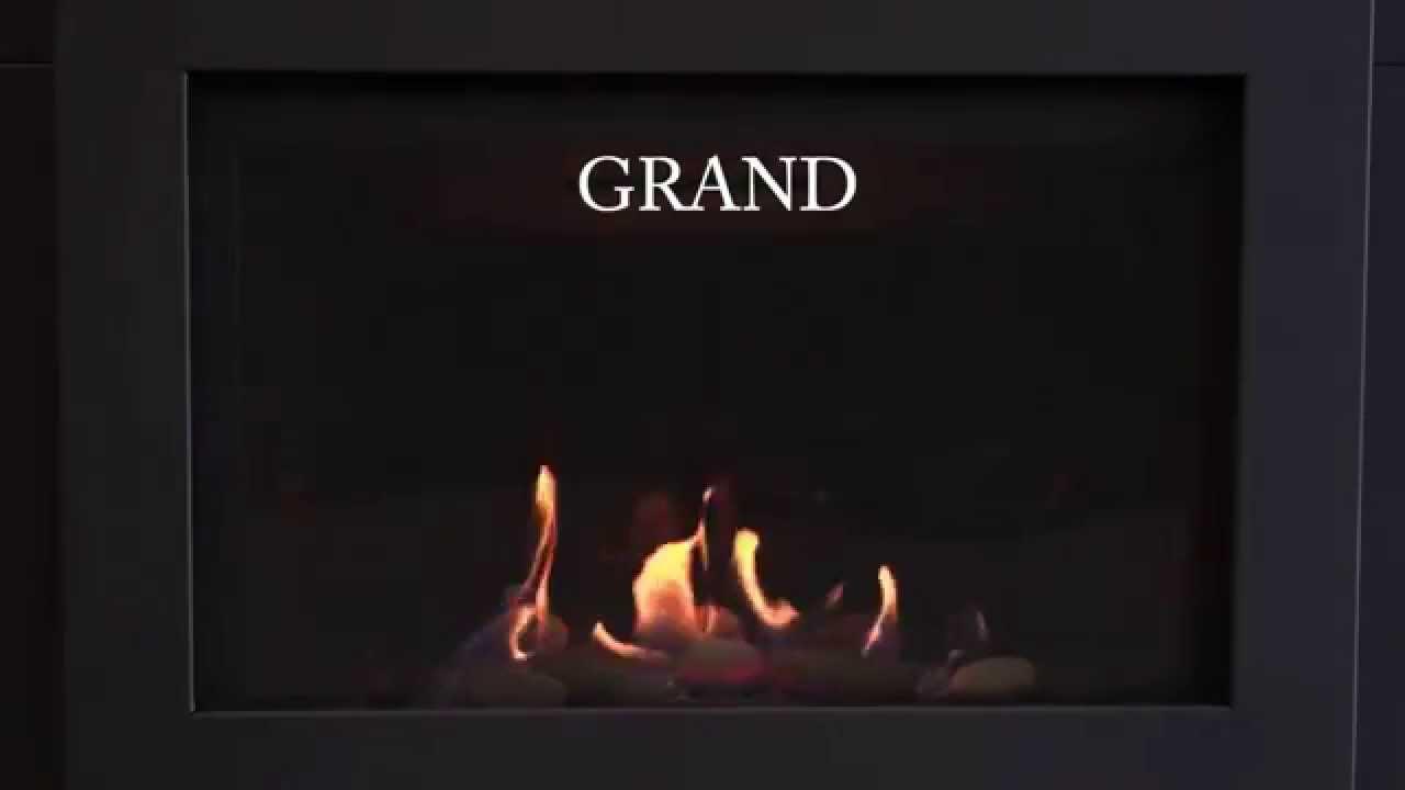 savannah heating grand gas fireplace insert video youtube