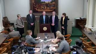 State Capitol: Legislative announcement and contingency plans