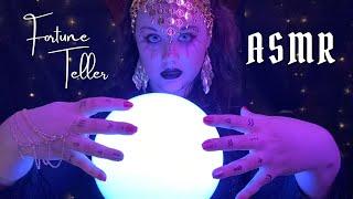 ASMR   Fortune Teller {Singing, Crystal Healing, Aura Reading, Telling Your Future} screenshot 1