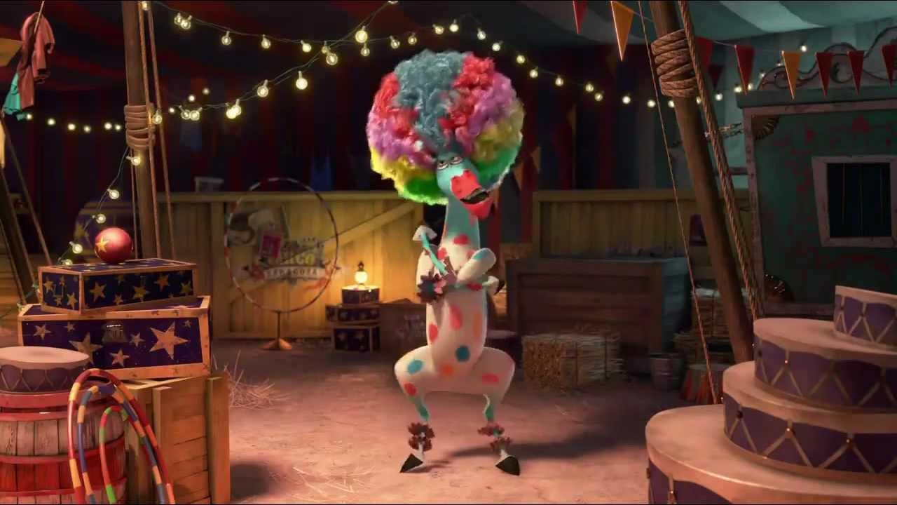 В афро цирке мадагаскар 3 youtube.