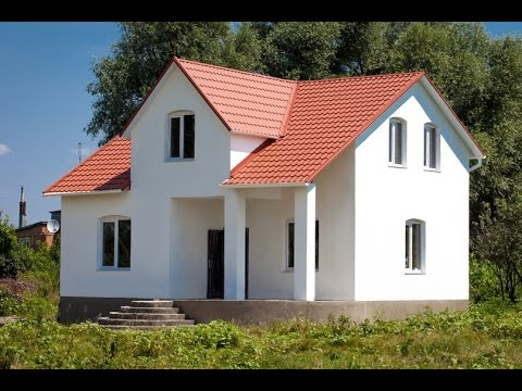 Монтаж, сборка каркасного дома в Харькове - YouTube