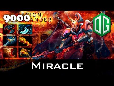 Miracle Immortal Legion Commander - 9000 MMR Dota 2