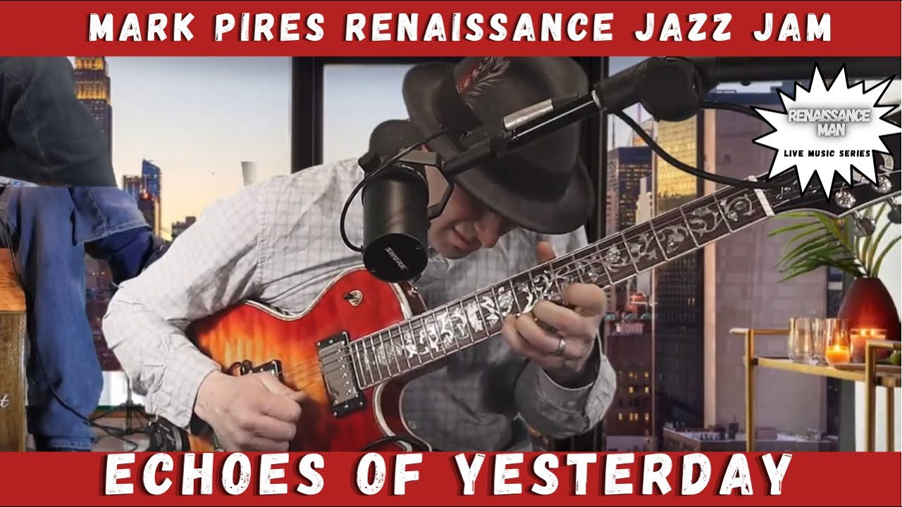Echoes of Yesterday a live jazz improvisation on the BeatSeat™️ 🎼🎶🎵