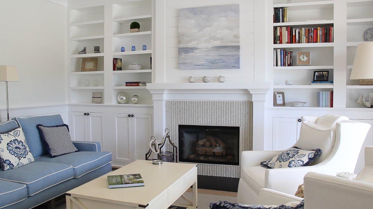 At Last Beach House Style Coastal Living On Coronado Island - Beach house living room furniture
