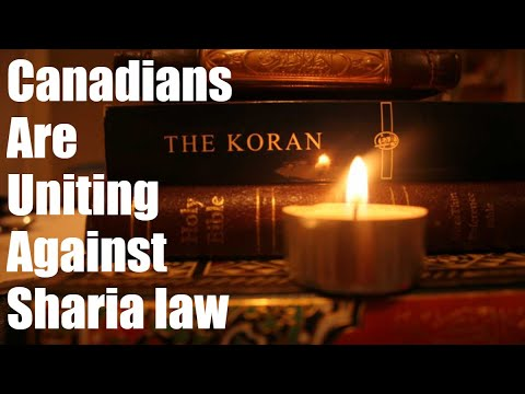 Canadians Speak Out Against Sharia Law and M103