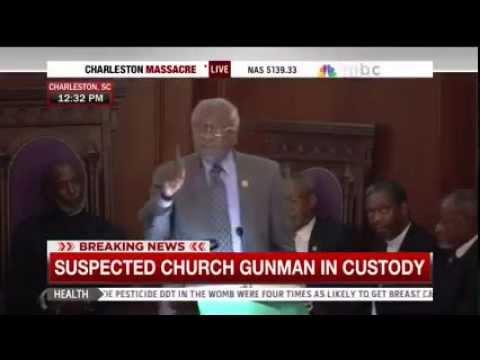 Clyburn speaks at vigil for Charleston shooting victims