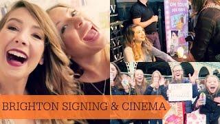 Brighton Book Signing & Cinema Date