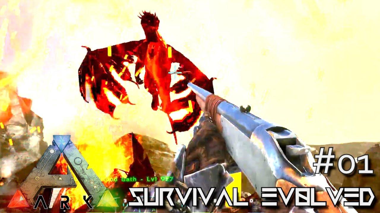 ARK: ANNUNAKI GENESIS MOD - DRAKE HUNTING !!! E01 (Gameplay POOPING EVOLVED)