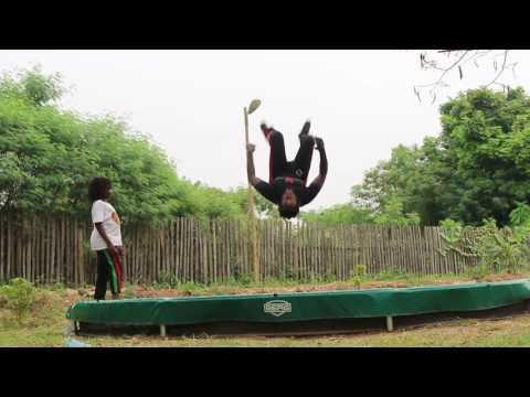 Flip Practice - Abibifahodie Capoeira - Kambon Family - 14 January 2017