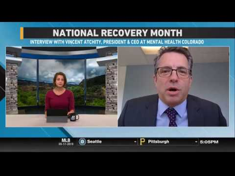 National Recovery Month: Interview W/ Vincent Atchity