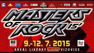 MASTERS OF ROCK 2015 (Vizovice CZ)