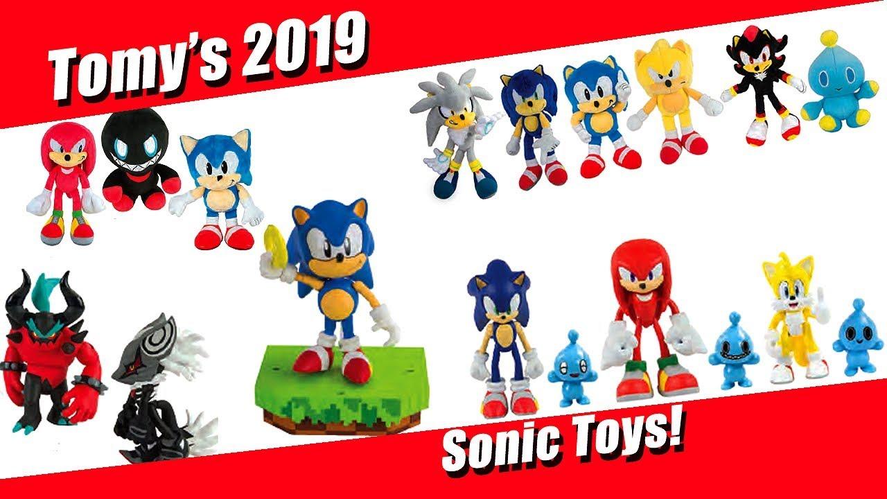 Tomy 2019 Sonic Toys Revealed Youtube
