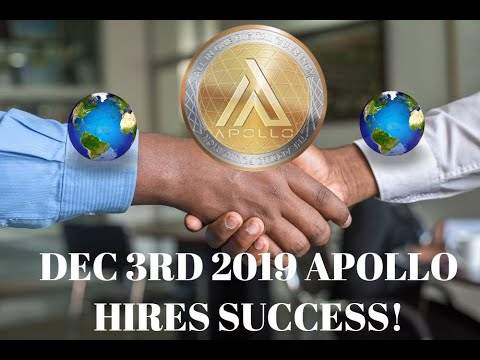 CRYPTO NEWS:JP MORGAN/CZ BINANCE APOLLO DEC 3RD!!APOLLO AFRICA EXPLODING!