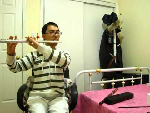 "卷珠帘 霍尊-长笛演奏 ""Juan Zhu Lian-rolling the beaded curtains"", Huo Zun, Sing My Song"