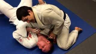 Armbar variation from bread cutter choke. Video by @kylejitsplayer