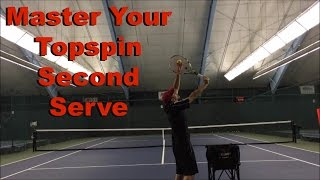Topspin Second Serve