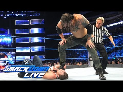 Dean Ambrose vs. Baron Corbin: SmackDown Live, Aug. 30, 2016