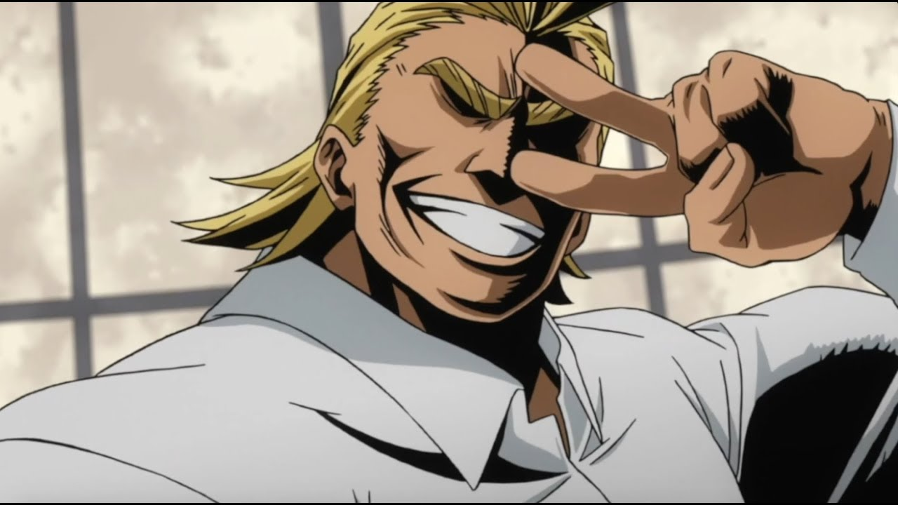 All Might being a dad for like 2 and a half minutes