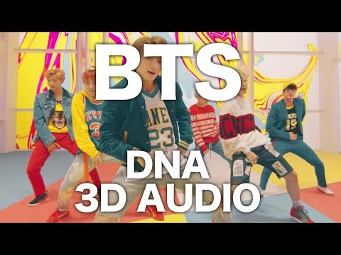 BTS - DNA [3D AUDIO]