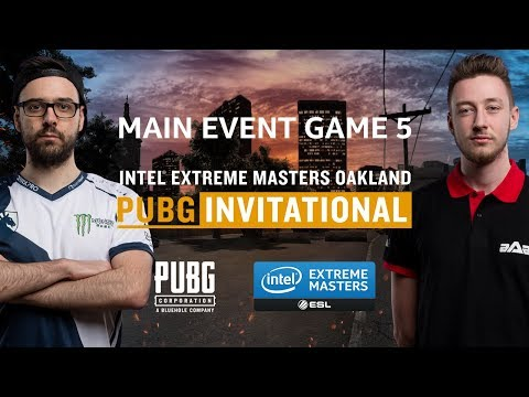 PUBG - GAME 5 - Final - IEM Oakland PUBG Invitational