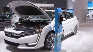Electric Vehicles at 2019 Auto Show