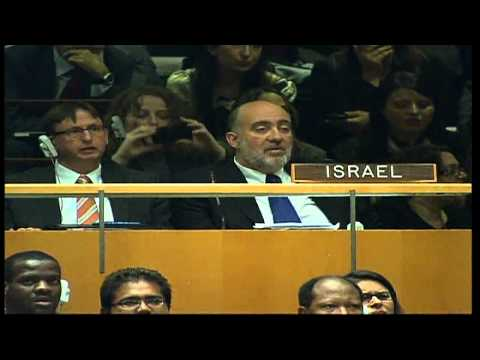 UN general assembly votes on Palestine