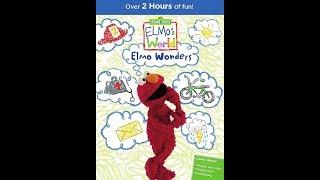 Elmo's World: Elmo Wonders (2016 DVD)