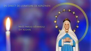 Rosaire du mardi 6 juillet, replay