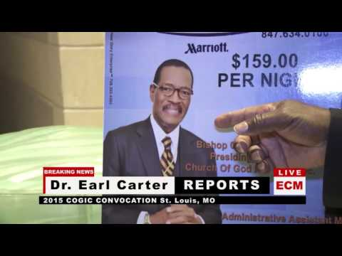 WATCH: Prophet Earl Carter Told to Leave Church of God In Christ