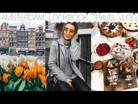 Amsterdam Travel Vlog & Lookbook