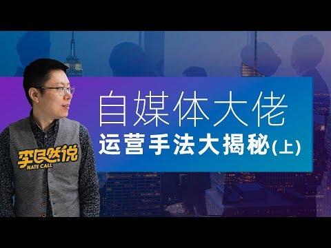 自媒体大佬运营手法大揭秘(上)【李自然说 Vlog37】