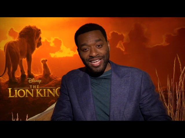 Oscar Nominated Actor Chiwetel Ejiofor on Harnessing the Sinister Side of Scar, Plus Shakespeare