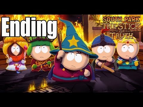 South Park The Stick of Truth Ending Final Boss and Ending / End