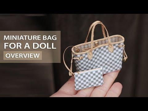 Miniature Bag for a Doll   Миниатюрная Сумка для Куклы