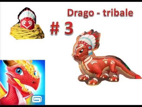 Dragon Mania Legends : come fare il Drago Tribale (Tribal Dragon)