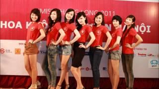Gặp gỡ Top 20 Hoa khôi sinh viên Hà Nội 2011 [Lao động 28/08/2011]