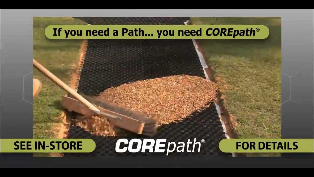 How to make a garden path with gravel - Corepath Self Install The Perfect Gravel Pathway