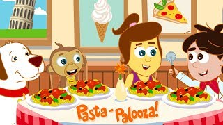PASTA TIME with Annie Ben And Mango! Funny Cartoons for Kids by Hooplakidz Toons