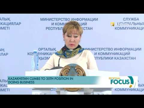 Kazakhstan climbs to 35th position in Doing Business