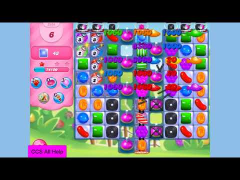 Candy Crush Saga Level 3164 NO BOOSTERS Cookie